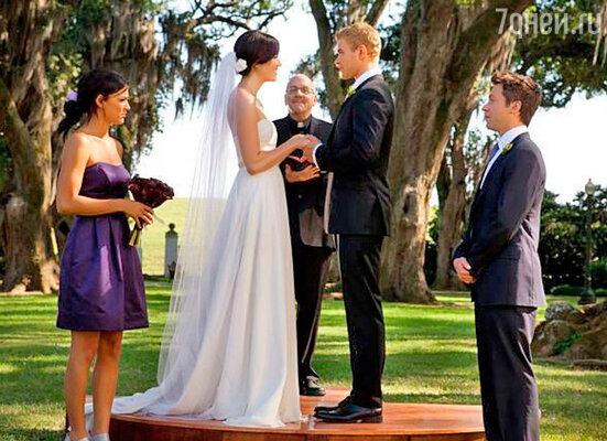 Кадр из фильма «Сначала любовь, потом свадьба»