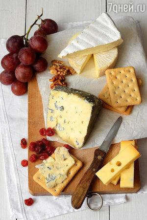 Крекеры + козий сыр
