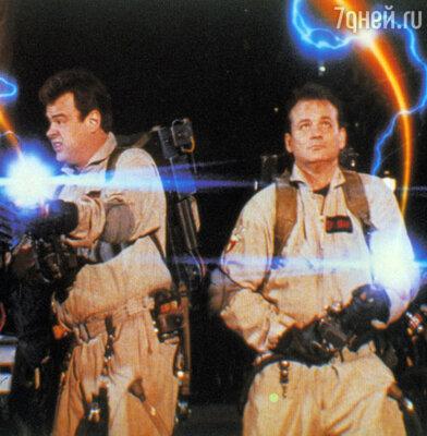 Кадр фильма «Охотники за привидениями», 1984 г.
