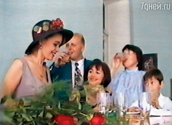 Наша свадьба. Справа от меня — теща Валентина Борисовна
