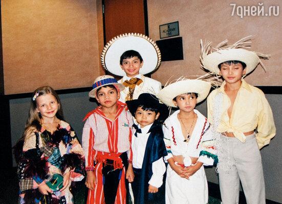 В восемь лет я поехала в Голливуд на Всемирный чемпионат исполнительских видов искусств