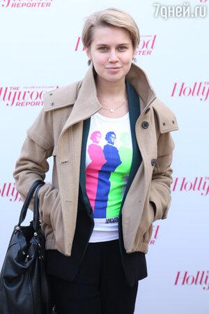 Дарья Мельникова на вечеринке Hollywood Reporter