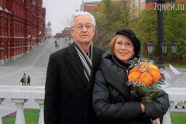 Лариса Мондрус и Эгил Шварц
