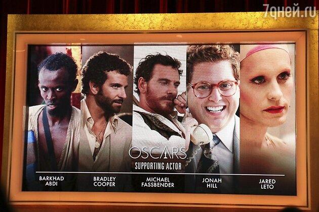 """Номинанты на премию """"Оскар"""" в категории """"Лучший актер второго плана"""""""