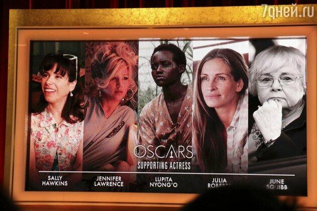 """Номинанты на премию """"Оскар"""" в категории """"Лучшая актриса второго плана"""""""