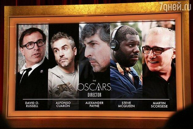 """Номинанты на премию """"Оскар"""" в категории """"Лучший режиссер"""""""