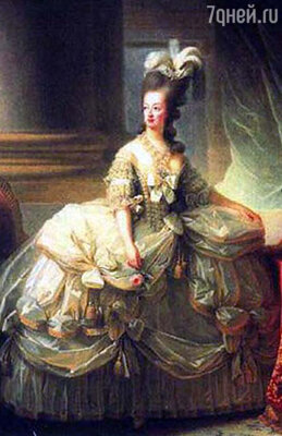 Королева Мария-Антуанетта...