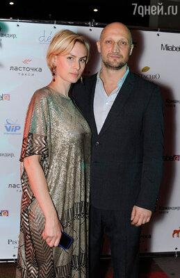 С женой Ириной Скриниченко