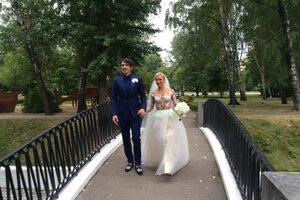 Первые фото и видео свадебной церемонии Волосожар и Транькова