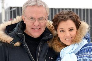 Ксения Алферова и Егор Бероев увидели настоящее чудо