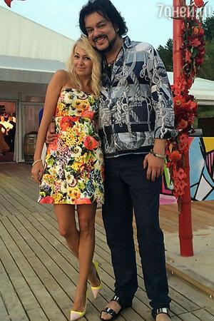 Яна Рудковская и Филипп Киркоров
