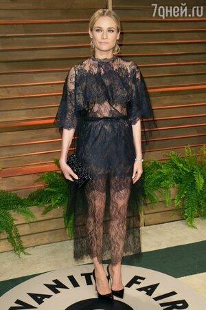 Диана Крюгер в платье от Valentino на вечеринке Vanity Fair Oscar Party