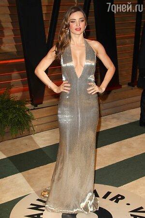 Миранда Керр на вечеринке Vanity Fair Oscar Party