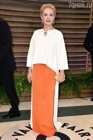 Каролина Эррера на вечеринке Vanity Fair Oscar Party