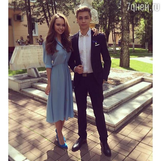 Стефания Маликова с братом Димой Маликовым