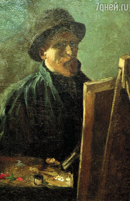 Винсент Ван Гог. Автопортрет, 1886 г.
