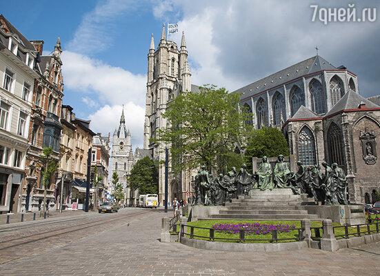 Кафедральный собор Святого Бавона в Генте