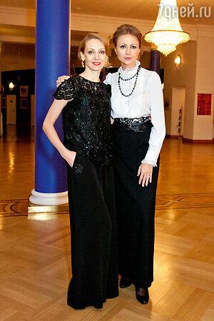 Мария Миронова  и  Илзе Лиепа