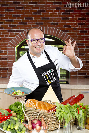 Шеф-повар кулинарной студии CulinaryOn Джузеппе Д'Анджело