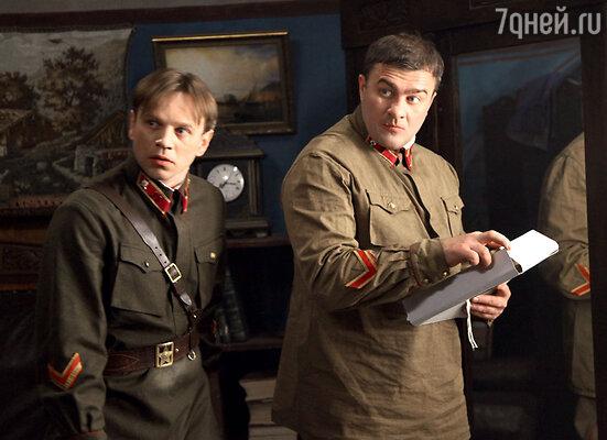 Михаил Пореченков не сразу согласился нароль немецкого шпиона. С актером Андреем Вальцем