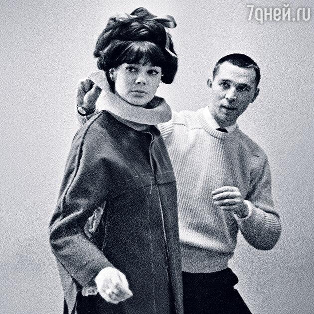 Регина Збарская и Вячеслав Зайцев