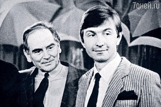 Александр Шешунов с Пьером Карденом