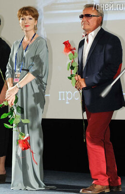 Ксения Кутепова и Сергей Шакуров - члены жюри кинофестиваля «Окно в Европ»у