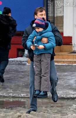 Борис Вишняков с сыном