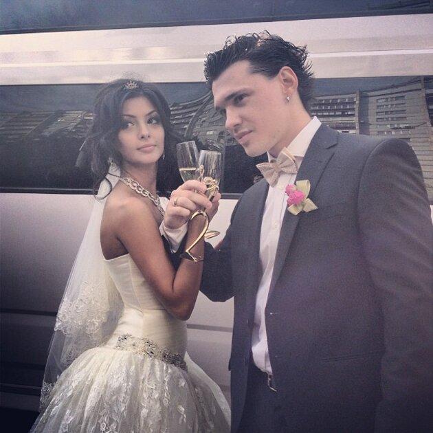 Алексей Кабанов с супругой Розой