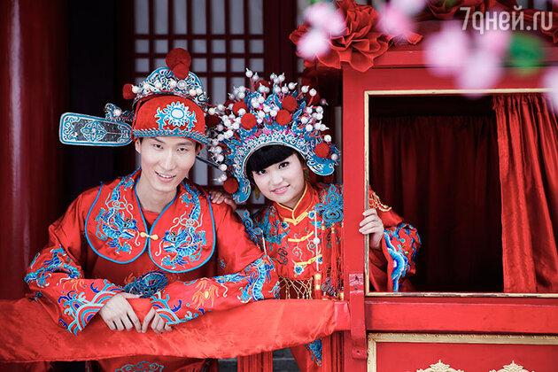 Традиционная китайская свадьба