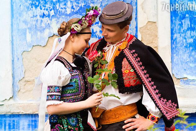 Венгерские молодожены