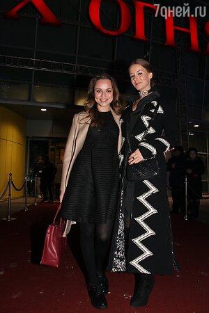 Ирина Старшенбаум и Дарья Руденок