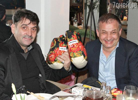 Владимир Вишневский и Георгий Дзагуров