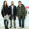 Владимир Кристовский с женой Ольгой и братом Сергеем