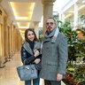 Юрий Грымов с дочерью Антониной