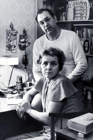 Владимир Мусаэльян с женой