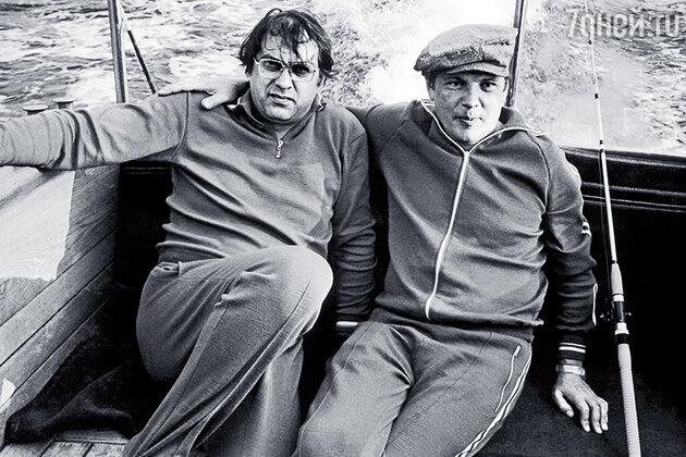 Владимир Мусаэльян с Юрием Чурбановым