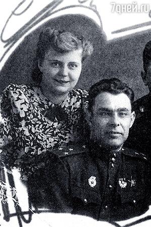 Леонид Брежнев и Тамара Левченко