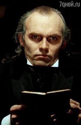 Профессора Мориарти (Виктор Евграфов) вфильме «Приключения Шерлока Холмса идоктора Ватсона»...