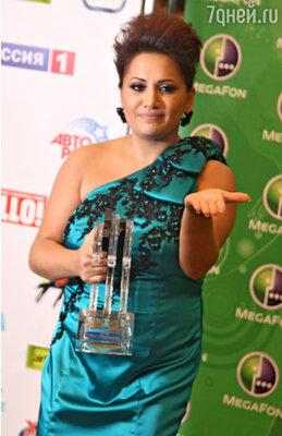 Победительницей конкурса «Новая волна» в Юрмале стала певица из Армении Сона Шахгельдян
