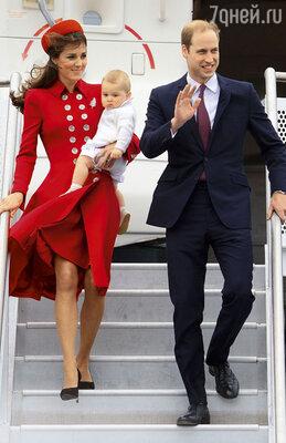 Уже грядущей весной в дружном семействе Кейт и принца Уильяма появится еще один малыш, а может, и двое