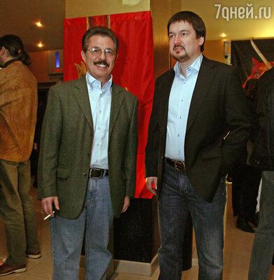Борис Берман и Ильдар Жандарёв