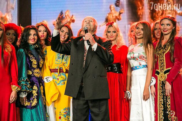 Владимир Зельдин на «Мисс Москва»