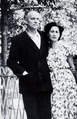 Женины родители Вацлав Дворжецкий и Рива Левите
