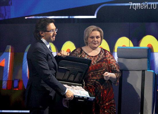 Единственная на сегодняшний день участница, выигравшая миллион, — московская учительница Наталья Шевченко