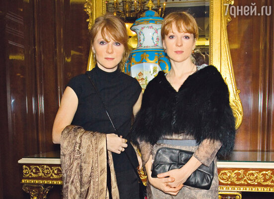 Сестры Полина и Ксения Кутеповы