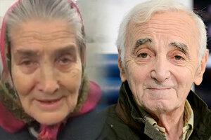 Азнавур хочет встретиться с бабушкой Лидой, спевшей его песни в метро