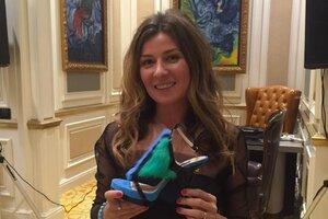 ВИДЕО: Жанна Бадоева  показала свои первые туфли