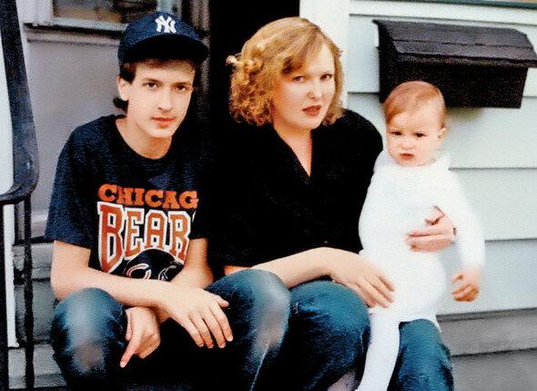 Я, Паша и внучка Сонечка, США, 1992 год