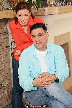 Алена Хмельницкая и Тигран Кеосаян